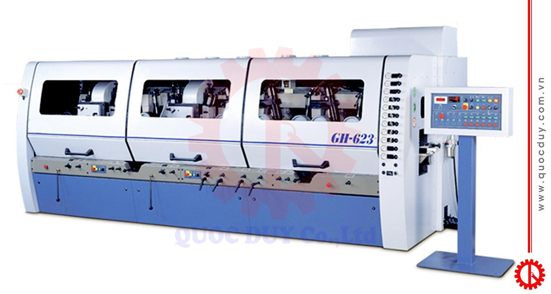 Máy bào bốn mặt 6 trục cao tốc GH-623 | Quốc Duy