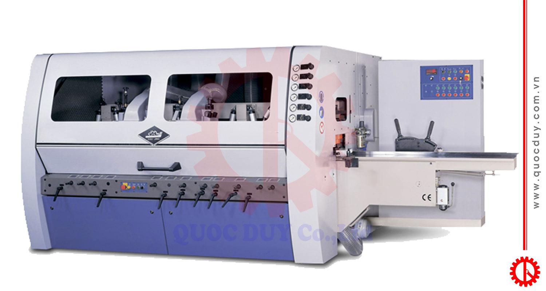 Máy bào bốn mặt cao tốc - dao thẳng GN-6S23 | Quốc Duy