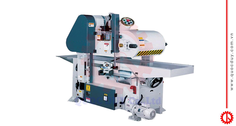 Máy bào 2 mặt 4 tấc cao tốc dao xoắn GT-400J | Quốc Duy