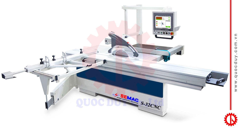 Máy cưa bàn trượt thông minh cnc S-32 CNC | Quốc Duy