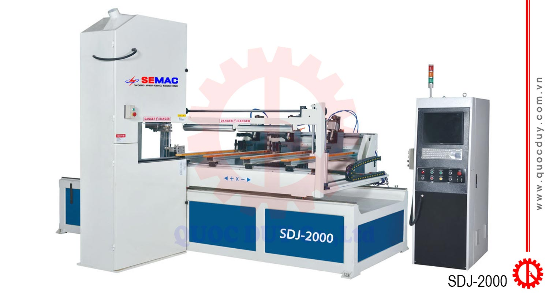 Máy cưa lọng lập trình cắt Autocard SDJ-2000 | Quốc Duy