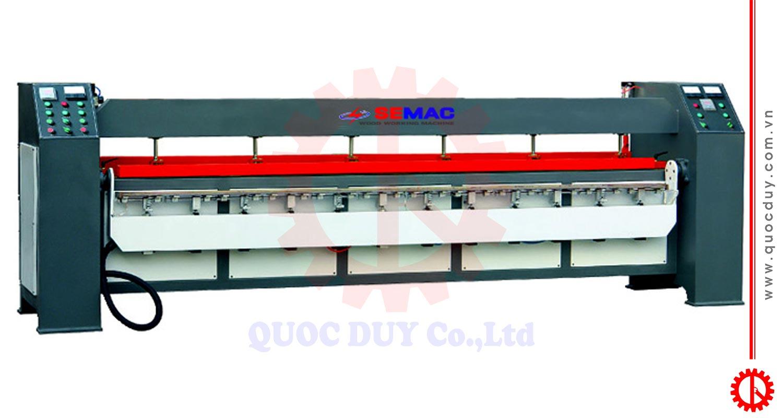 Máy uốn cạnh cong laminate SM-2600A | Quốc Duy