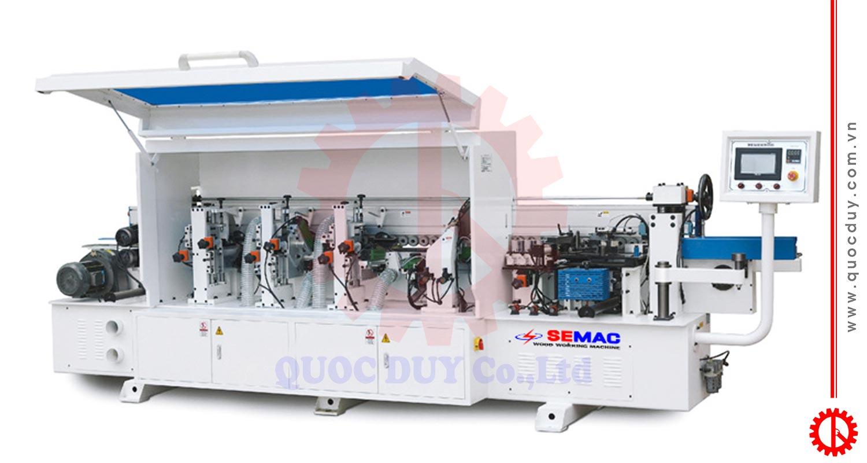 Máy dán cạnh chỉ PVC 6 chức năng tự động SM-360D2 | Quốc Duy