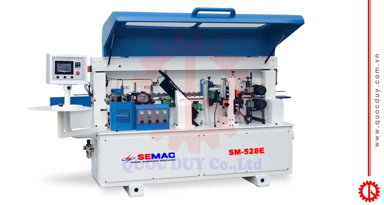 Máy dán cạnh thẳng 4 chức năng tự động SM-528E | Quốc Duy