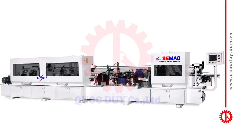 Máy dán cạnh thẳng-nghiêng tự động full chức năng SM-6XK | Quốc Duy