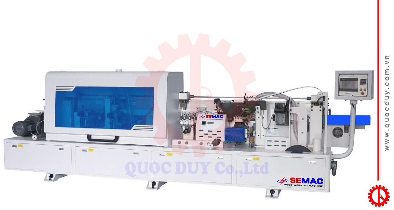 Máy dán cạnh nghiêng tự động 7 chức năng SMLM-450DT | Quốc Duy