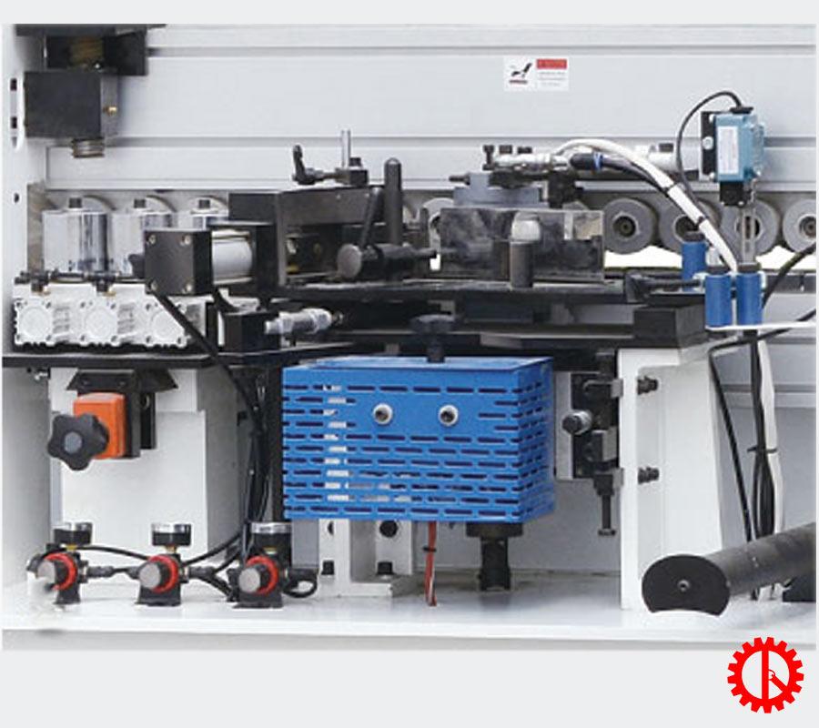 Bộ phận lăn keo dán nẹp máy dán cạnh ván MFC 5 chức năng tự động SM-360 | Quốc Duy
