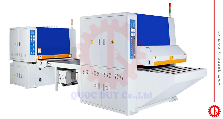 Hệ thống máy chà nhám nhám 2 mặt 600mm 0.6M   Quốc Duy