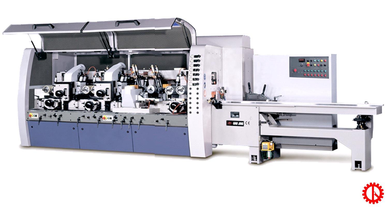 Máy bào 4 mặt 7 trục dao cnc GL-730 | Quốc Duy