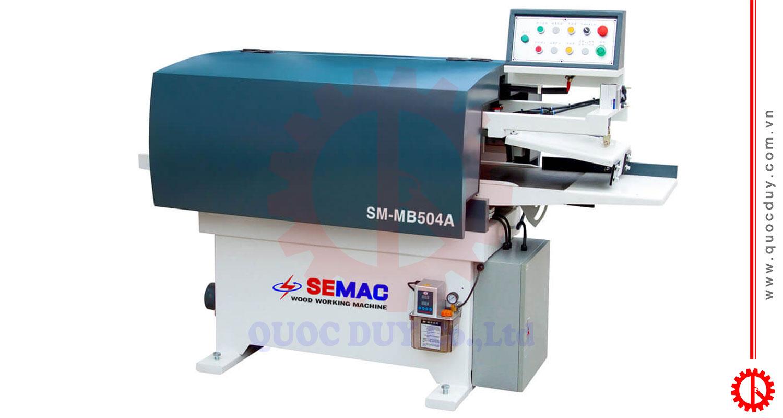 Máy bào thẩm tự động trục dao xoắn SM-MB504A | Quốc Duy