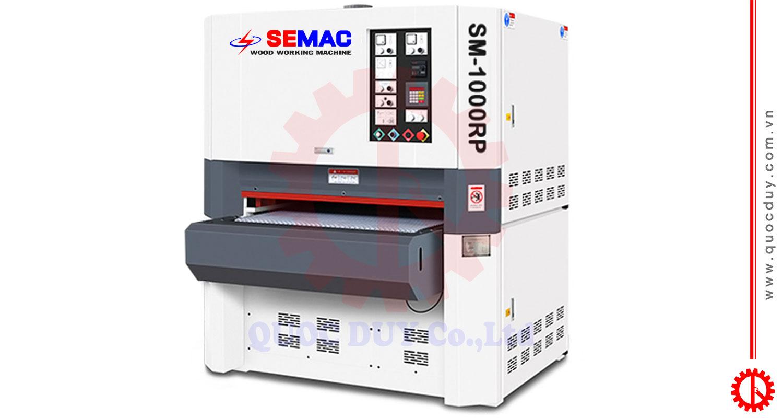 Máy chà nhám thùng 2 trục 1000mm SM-1000RP | Quốc Duy