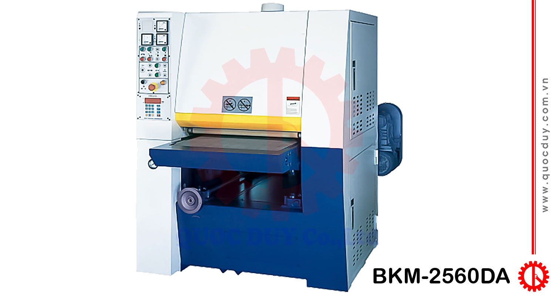 Máy chà nhám thùng 2 trục 600mm BKM-2560DA | Quốc Duy