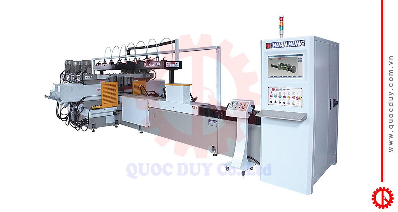 Máy chép hình dài CNC 8 trục dao | Quốc Duy