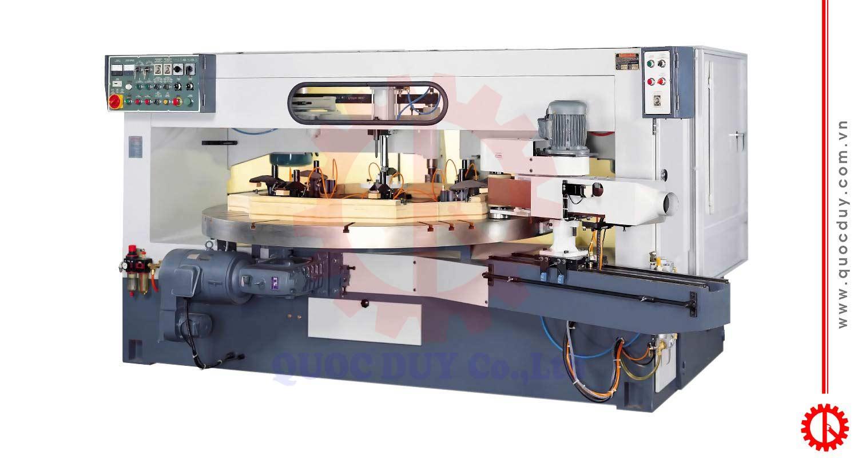 Máy chép hình tròn tự động 2 trục DT-1280S | Quốc Duy