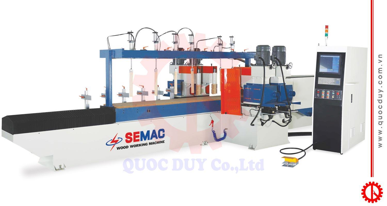 Máy phay chép hình chà nhám CNC 4 trục SDX-SX4-2400 | Quốc Duy