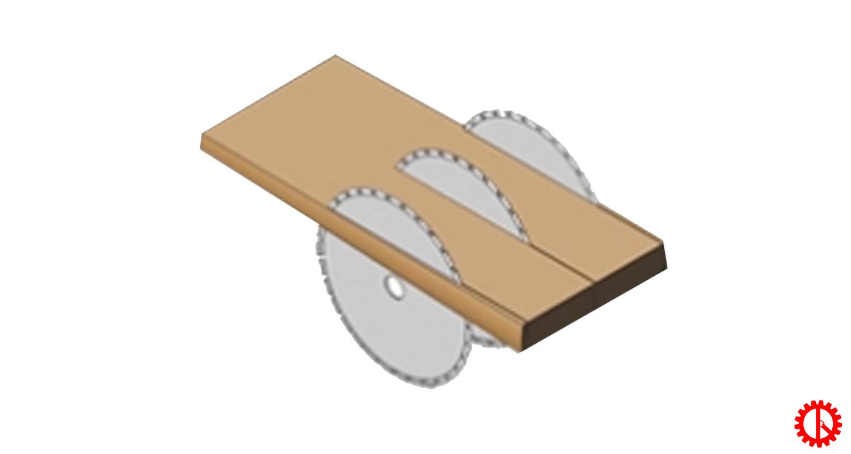 Sản phẩm máy cưa rong cạnh bìa nhiều lưỡi MJ141-0450 | Quốc Duy