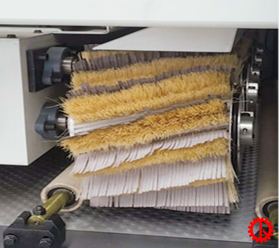 Trục chà nhám ngang máy chà nhám chổi 9 hàng trục 1300mm SM-1300-9S | Quốc Duy