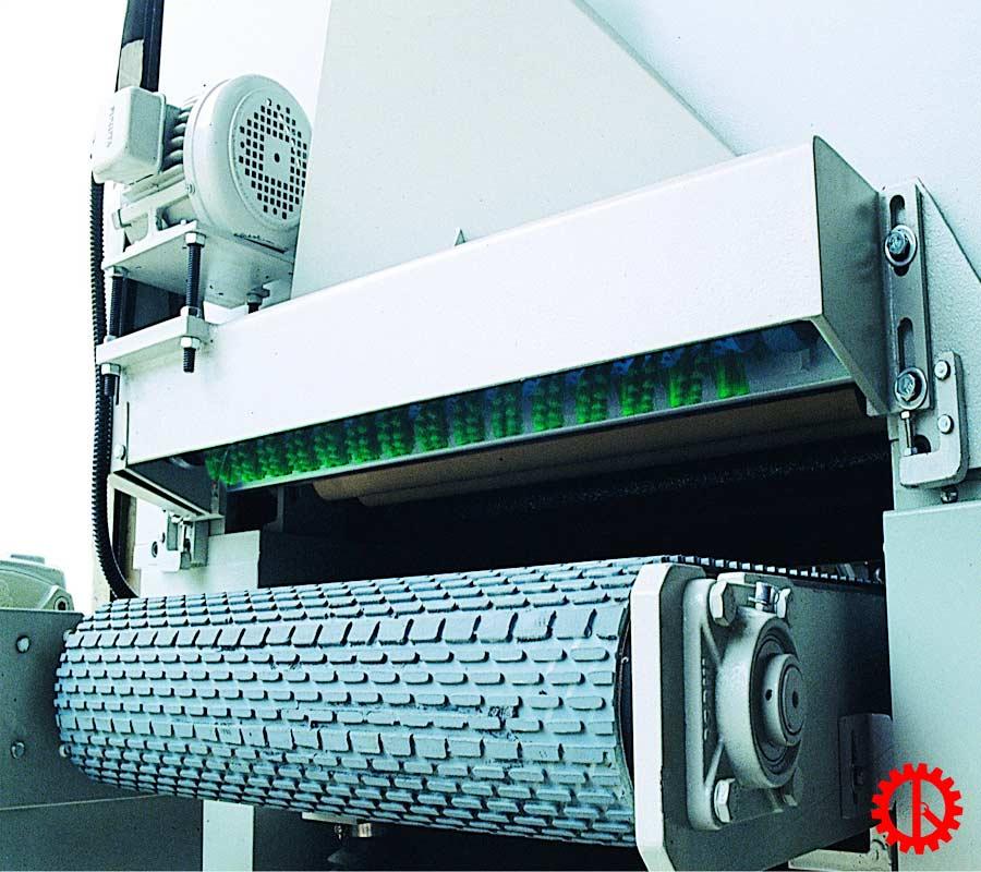 Băng tải máy chà nhám thùng 1300mm PR-52A | Quốc Duy