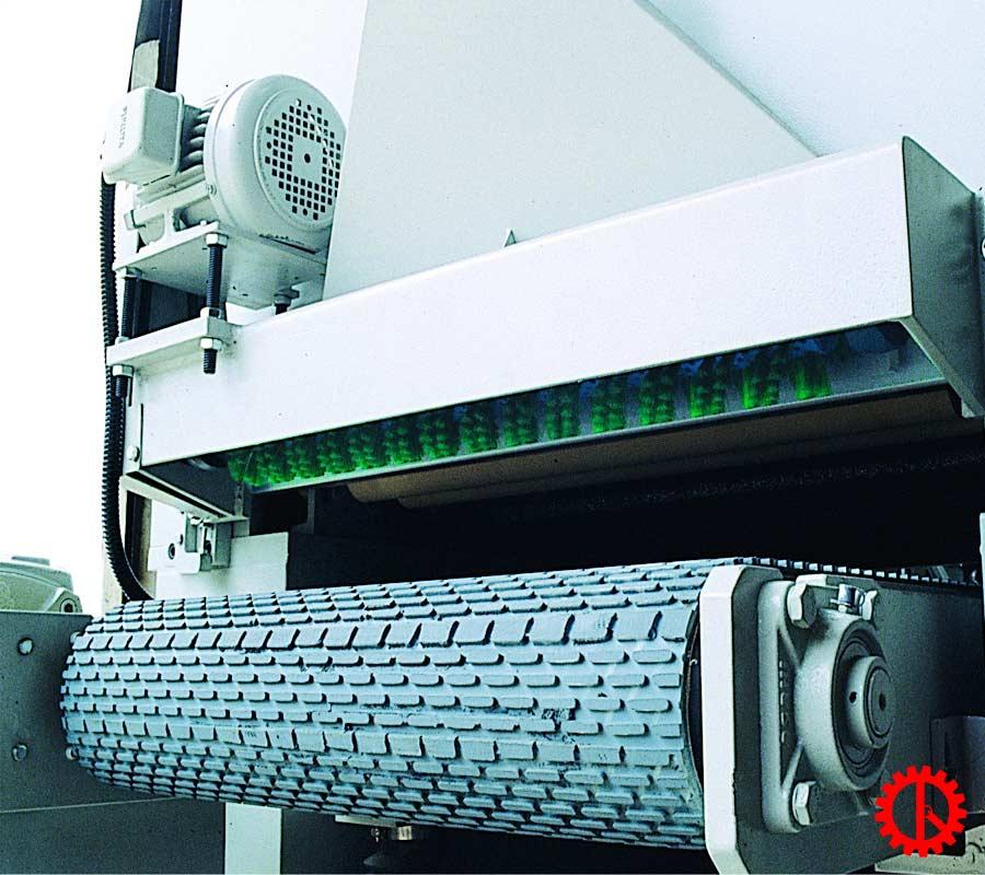 Băng tải máy chà nhám xả sơn lót PR-37B | Quốc Duy