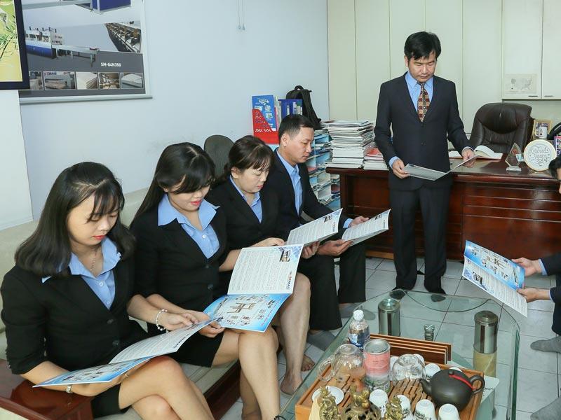 Bộ phận chăm sóc khách hàng Quốc Duy