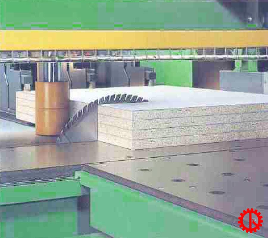 Khả năng cắt máy cưa beam saw 2 lưỡi chạy HPP-81SC | Quốc Duy