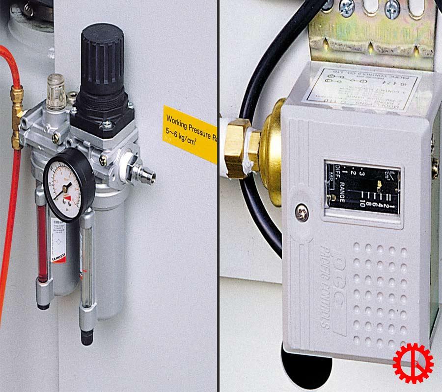 Kiểm tra áp suất máy chà nhám xả sơn lót PR-37B | Quốc Duy