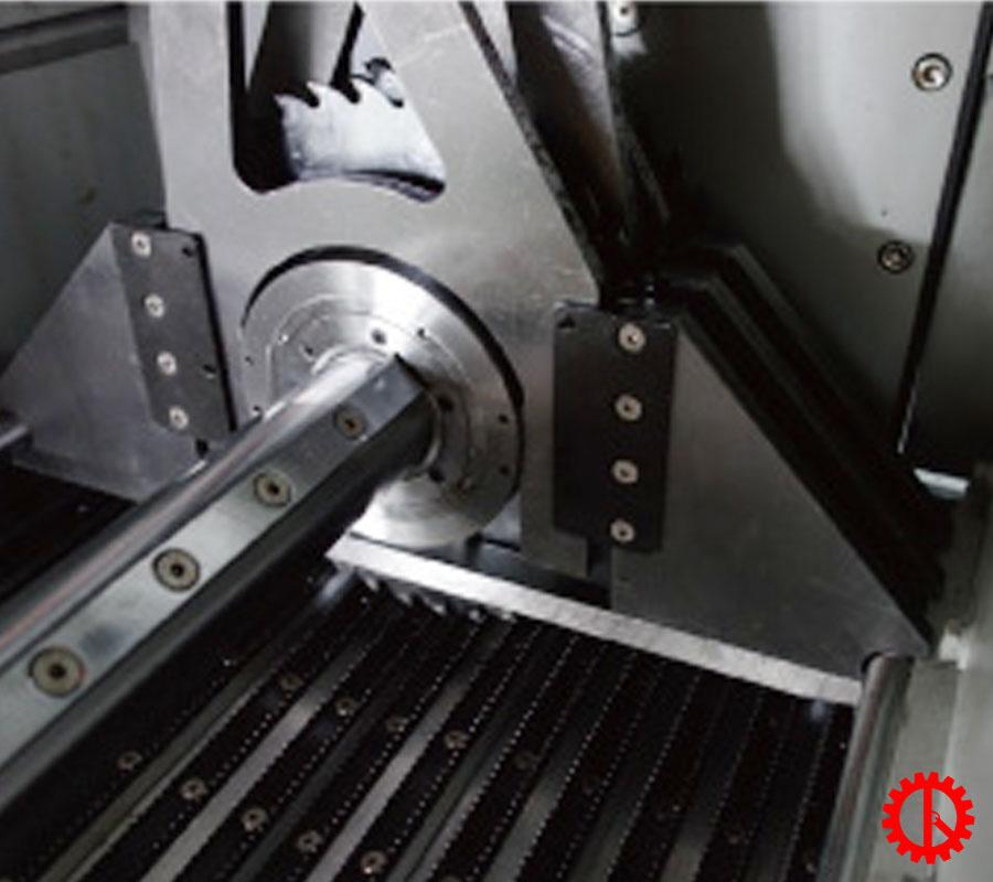 Lưỡi cưa di chuyển theo lazer máy cưa rong tự động GRS-460M | Quốc Duy