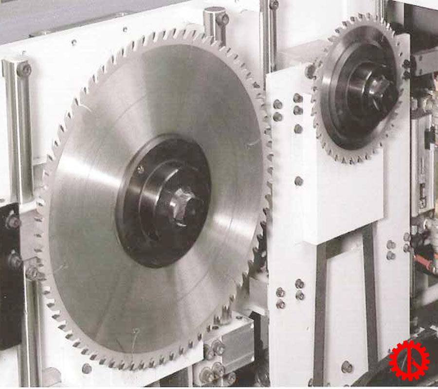 Lưỡi cưa máy cưa beam saw 2 lưỡi chạy HPP-81SC | Quốc Duy