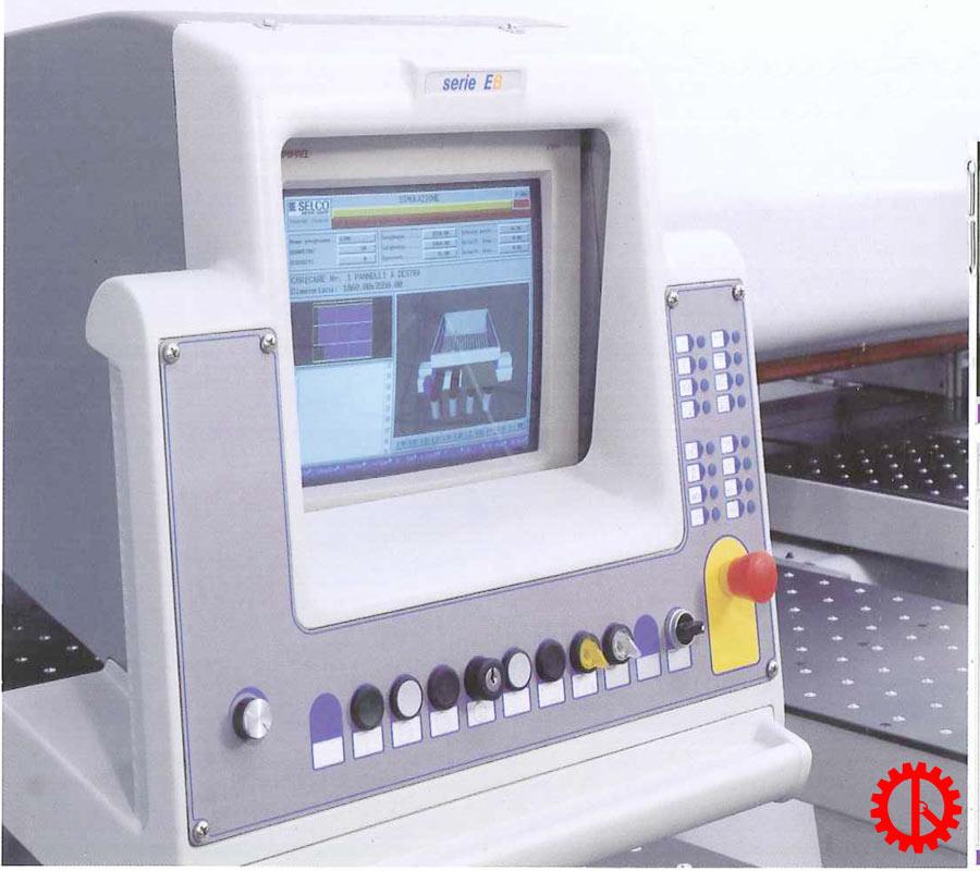 Màn hình máy cắt ván công nghiệp beam saw EBT-120LSC   Quốc Duy