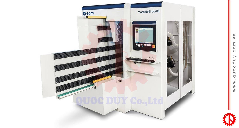 Máy CNC khoan lỗ SCM Morbidelli CX 200 | Quốc Duy