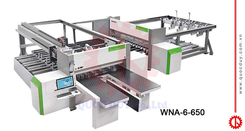 Máy cưa cắt panel lập trình cắt ván WNA-6-650 | Quốc Duy