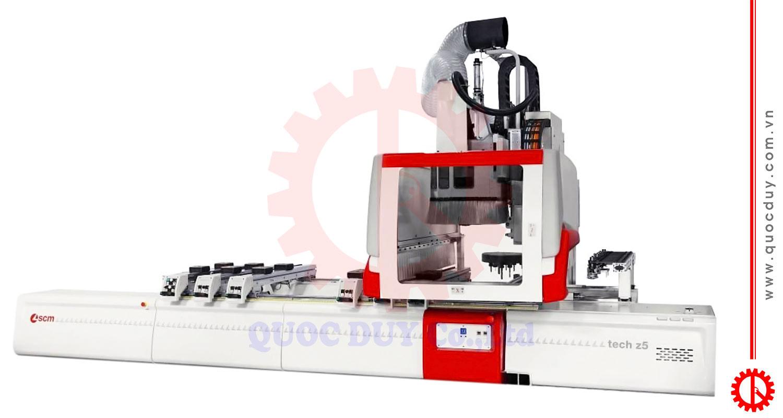 Máy gia công gỗ CNC trung tâm TECH-Z5-52   Quốc Duy