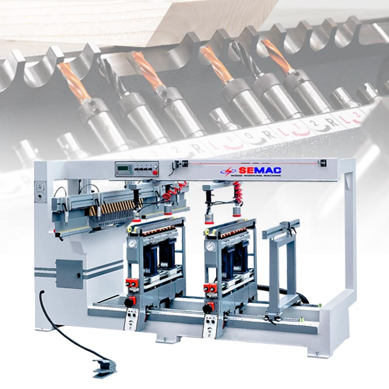 Straight line boring machine