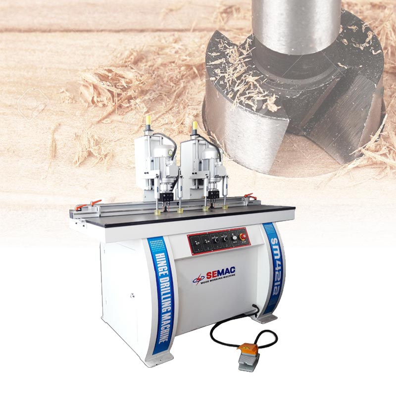 Door lock and hinge drilling machine