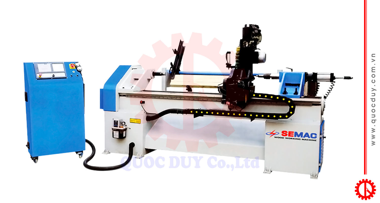 Máy tiện cnc đưa phôi tự động SM-4015DM | Quốc Duy