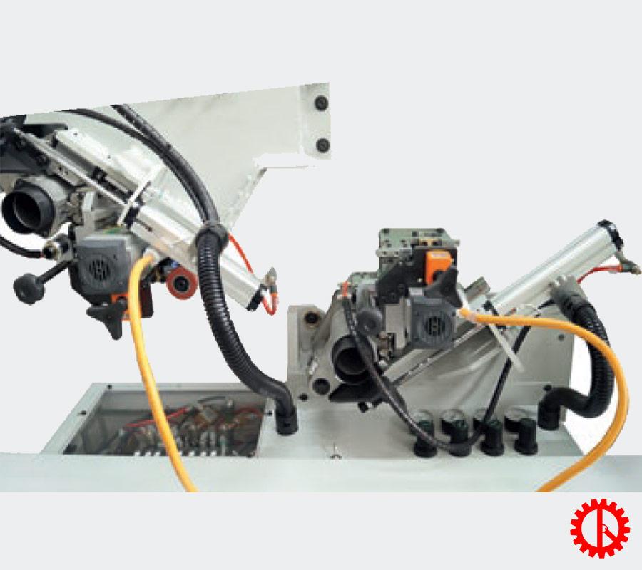 Bộ phận bo góc máy dán cạnh tự động phay cạnh trước JADE 240 | Quốc Duy