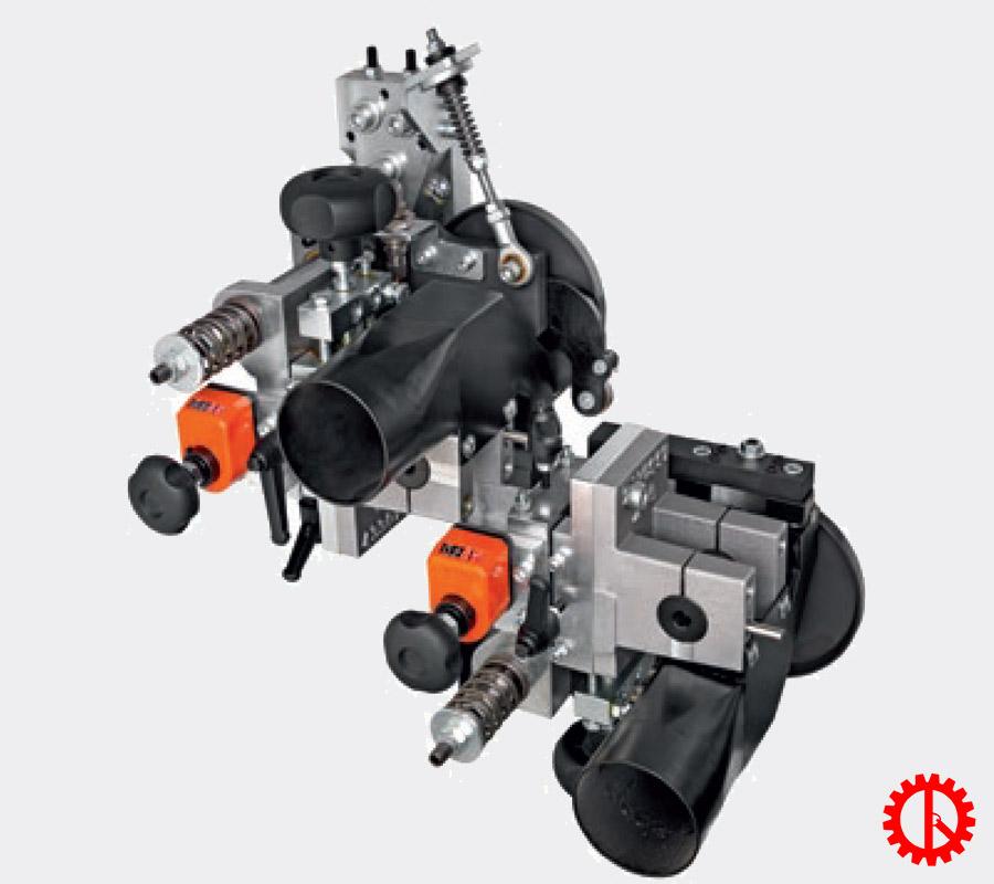 Bộ phận cạo keo máy dán cạnh tự động phay trước cnc AKRON-1100 | Quốc Duy