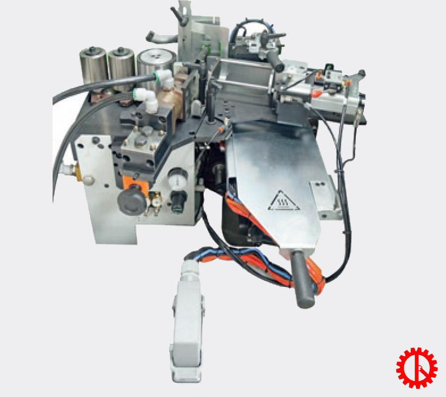 Bộ phận dán và kiểm soát keo máy dán cạnh thẳng tự động 7 chức năng JADE 225   Quốc Duy