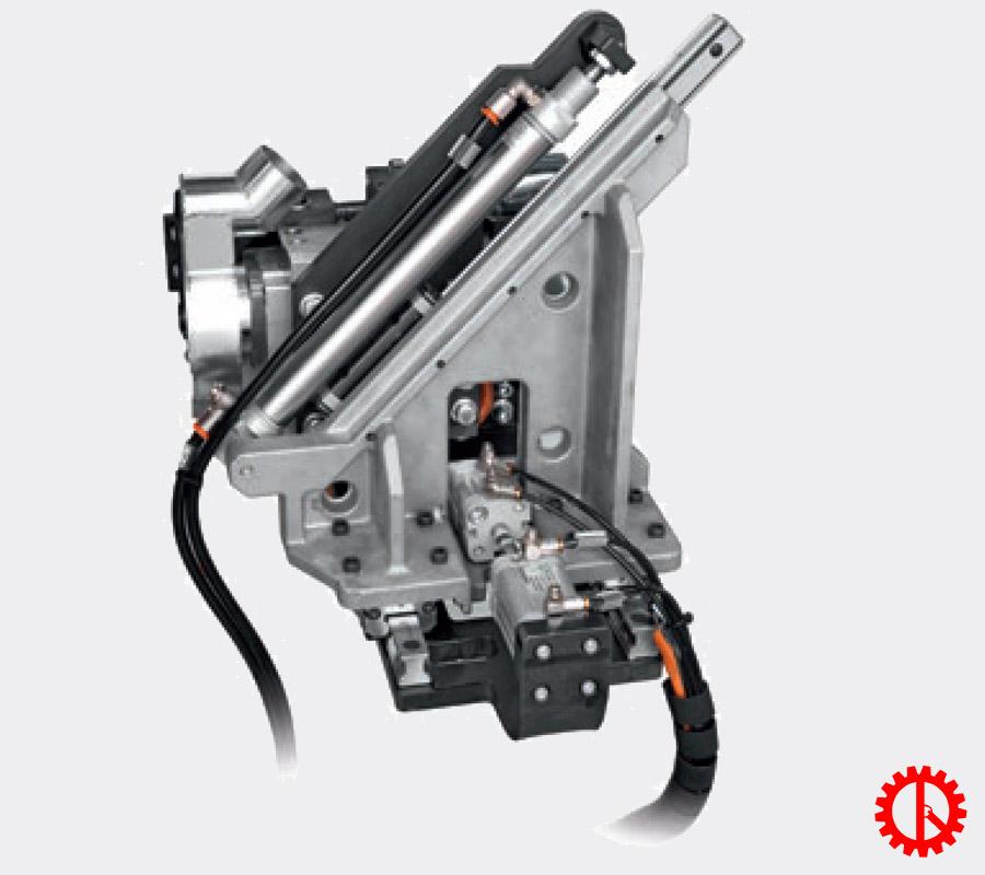 Bộ phận xén đầu đuôi máy dán cạnh tự động phay trước cnc AKRON-1100 | Quốc Duy