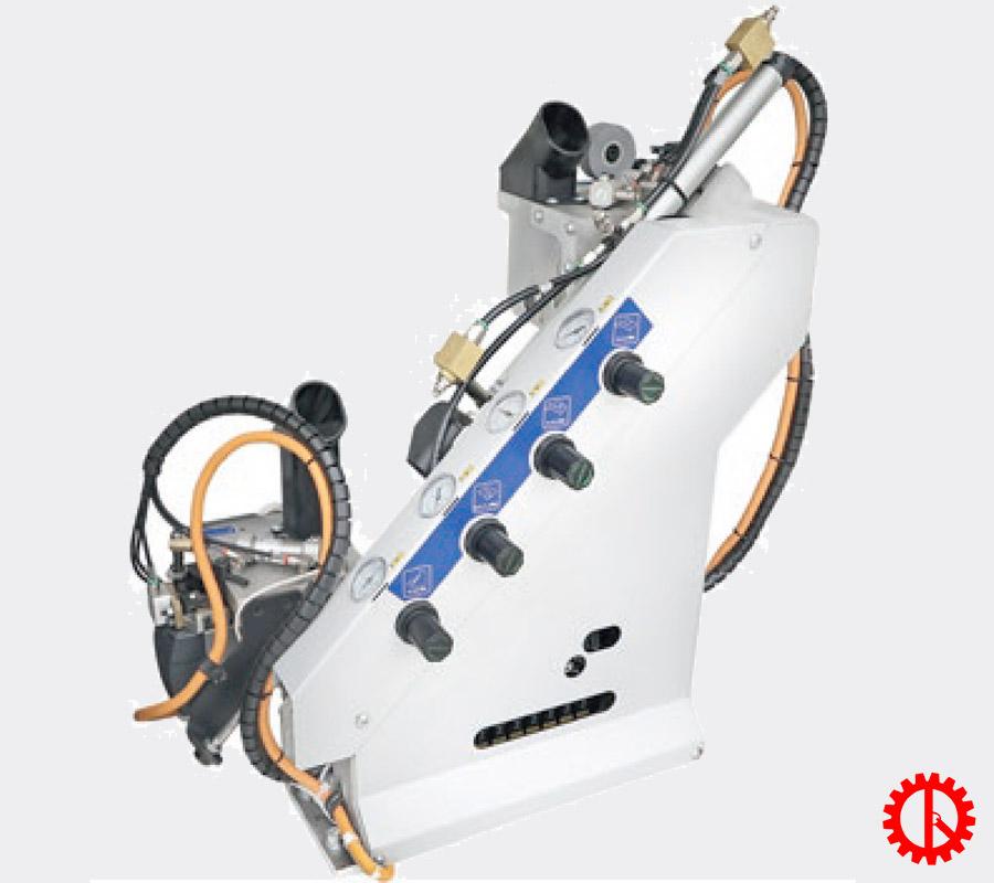 Bộ xén cạnh máy dán cạnh ván thẳng tự động STREAM A | Quốc Duy