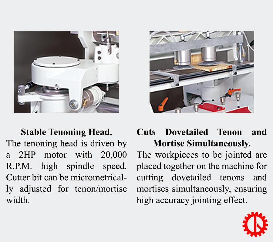 CONTINUOUS DOVETAILER FOR CURVED BOARD