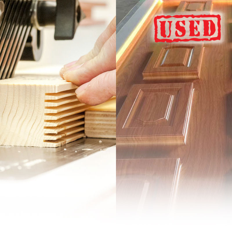 Finger joint and pressing SH machine