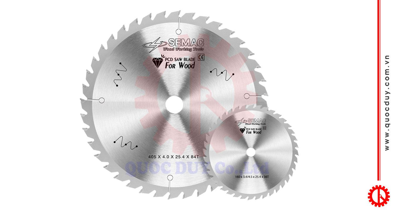 Lưỡi cưa panel saw hợp kim kim cương PCD SEMAC | Quốc Duy