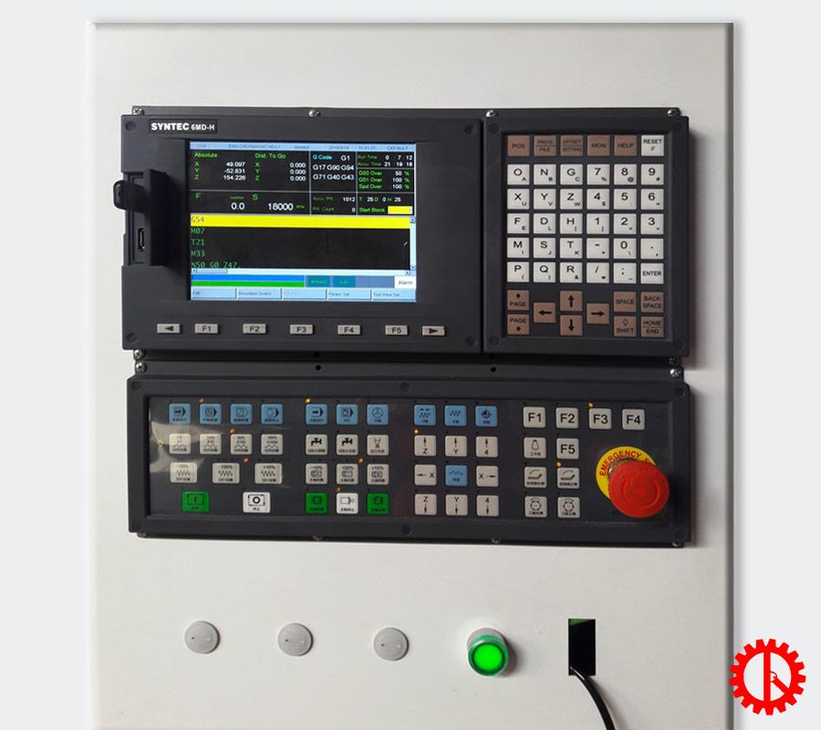 Màn hình máy cnc router khoan cắt ván tự động SM-1325   Quốc Duy