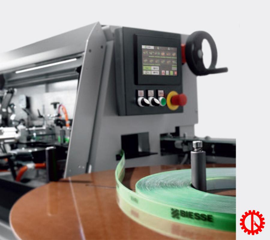 Màn hình máy dán cạnh tự động phay trước cnc AKRON-1100 | Quốc Duy