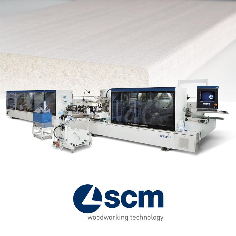 Máy dán cạnh tự động SCM