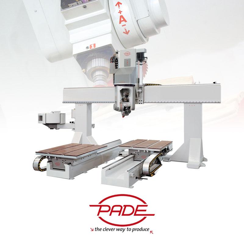 Máy gia công CNC Pade