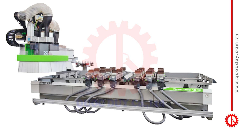 Máy gia công CNC tự động Rover GOLD 1232   Quốc Duy