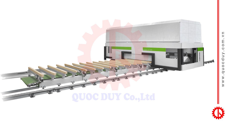 Máy gia công trung tâm lập trình cnc UNITEAM CLT400   Quốc Duy