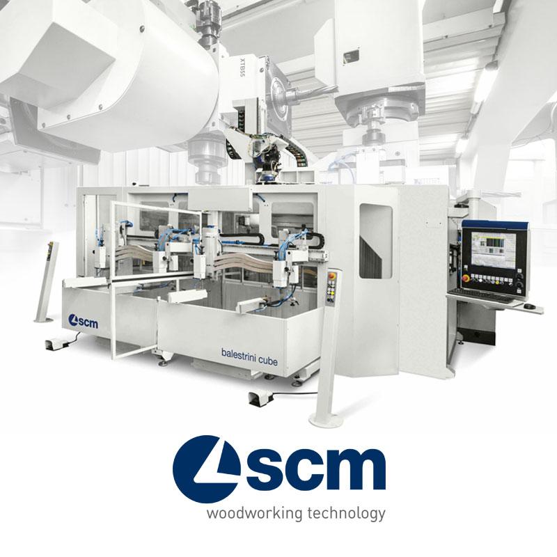 Máy CNC gia công gỗ SCM